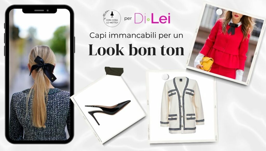 Bon ton look, the inevitable garments: instructions for use