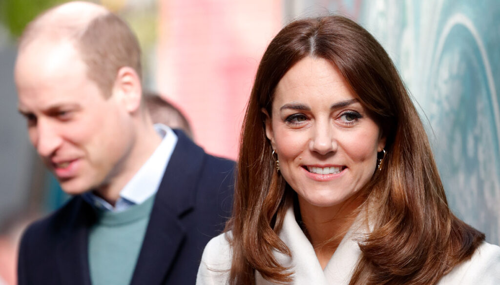 Kate Middleton surpasses herself with the € 3,485 white coat