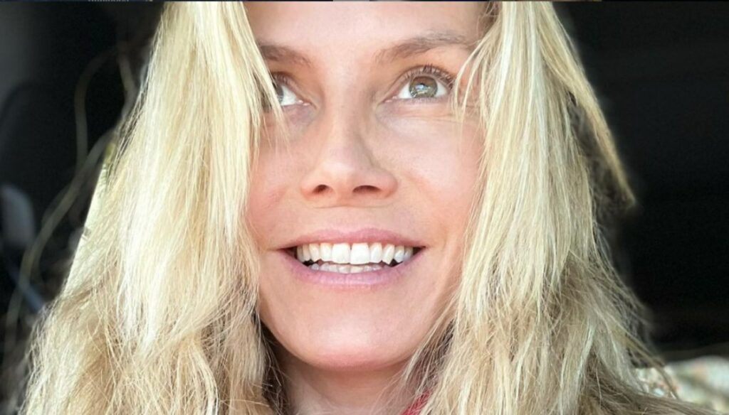 Heidi Klum, 47 without makeup on Instagram: gorgeous natural
