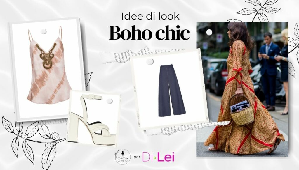 Boho chic look: how to do it with style