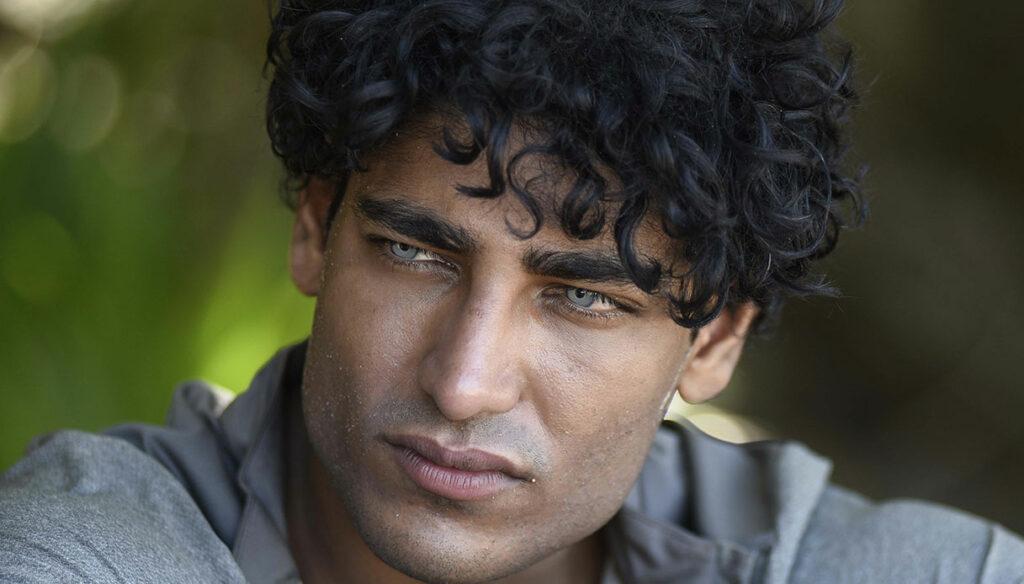 Akash Kumar, beautiful and mysterious model