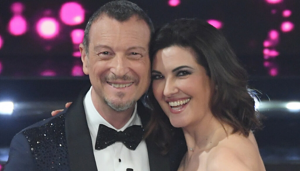 Amadeus at the third Sanremo: his wife Giovanna speaks