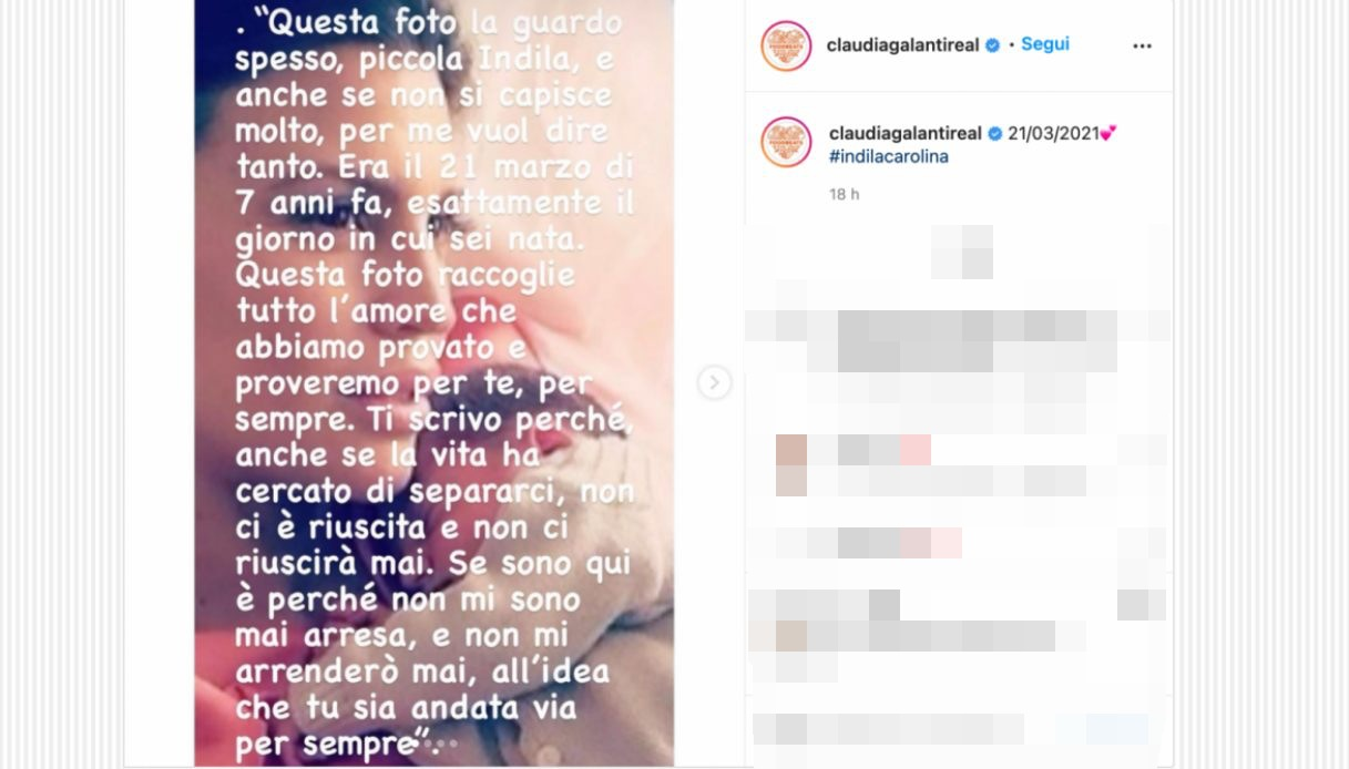 Claudia Galanti on Instagram