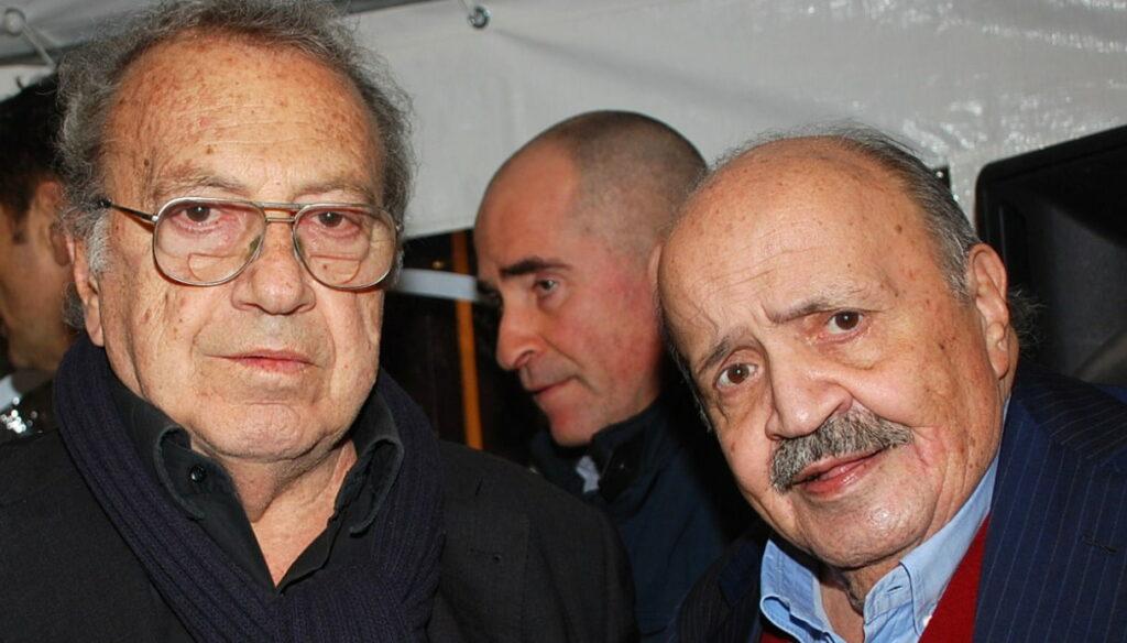 Enrico Vaime e Maurizio Costanzo
