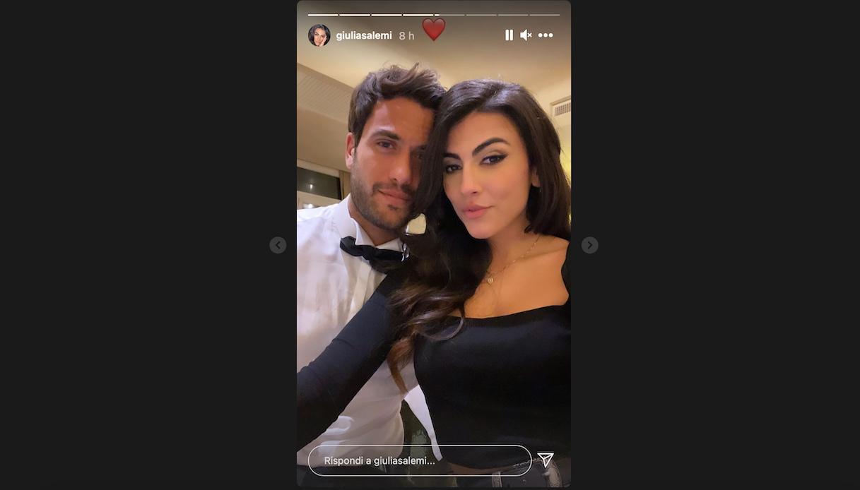 Pierpaolo Pretelli and Giulia Salemi