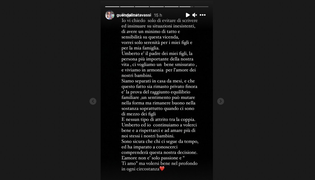 Guendalina Tavassi on Instagram