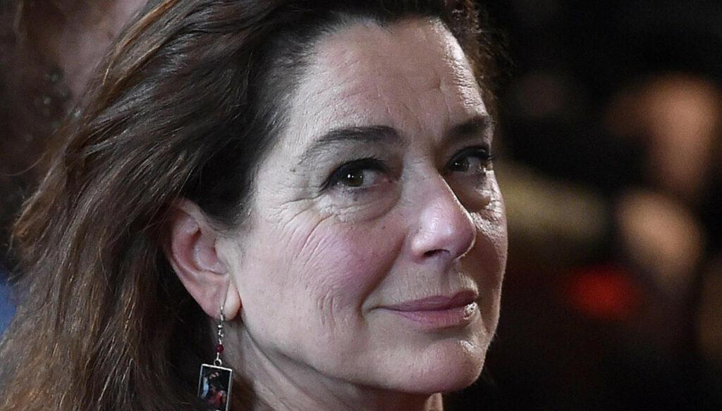 Monica Guerritore in Sanremo 2021 guest of Achille Lauro