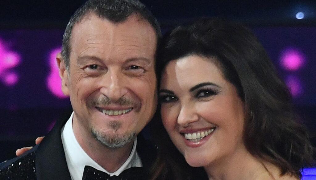 Amadeus e Giovanna Civitillo