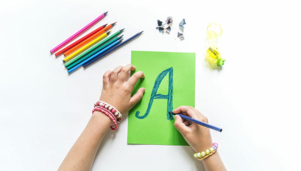 School orientation and graphological profile
