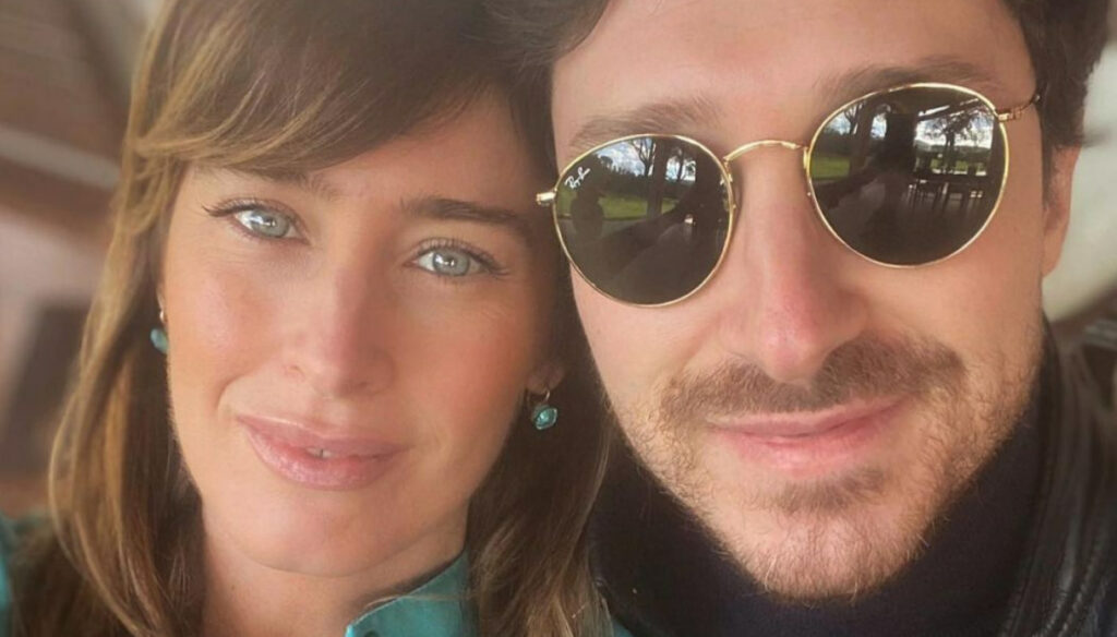Maria Elena Boschi, the Easter look is gorgeous, but Berruti isn't there
