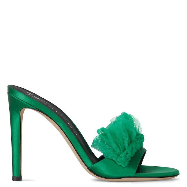 Zanotti green sandal