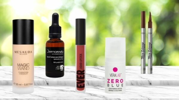 My 5 favorite beauty products for April: skincare and makeup to brighten the skin for the summer
