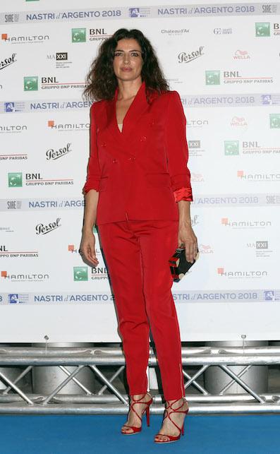 Luisa Ranieri red