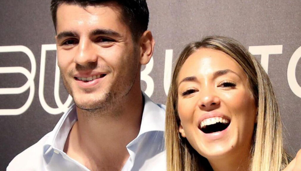 Alice Campello, the announcement of the fourth pregnancy in Morata is hilarious
