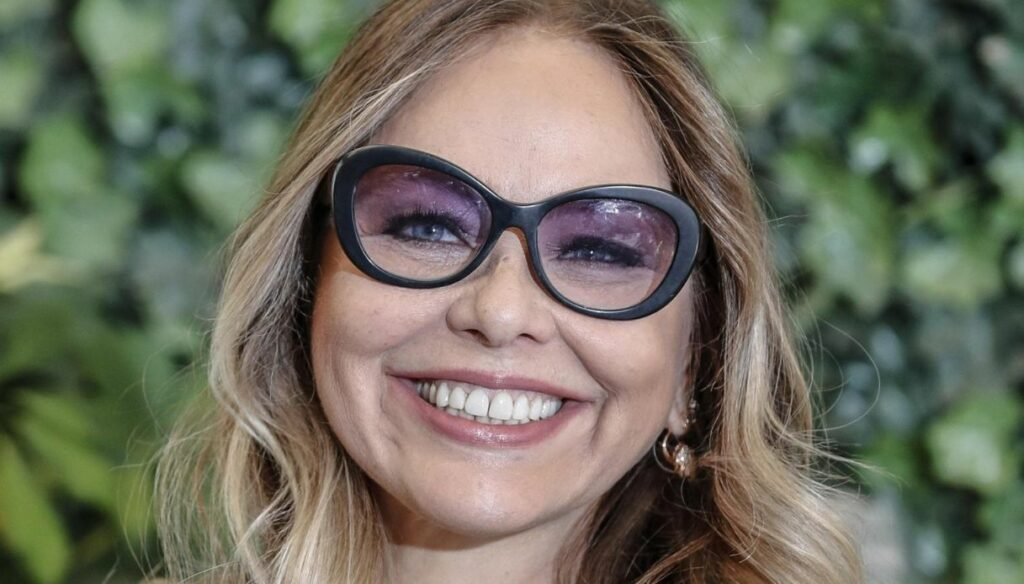 At Ornella Muti's home a cottage surrounded by nature