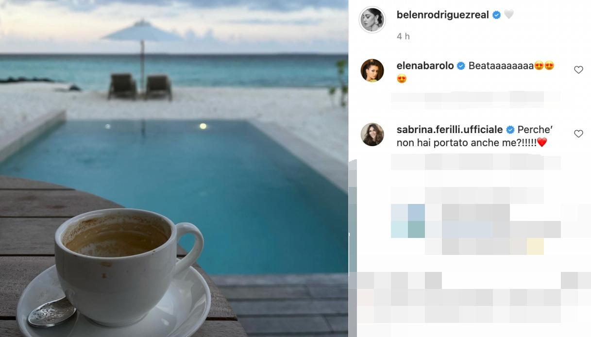 Belen post Instagram