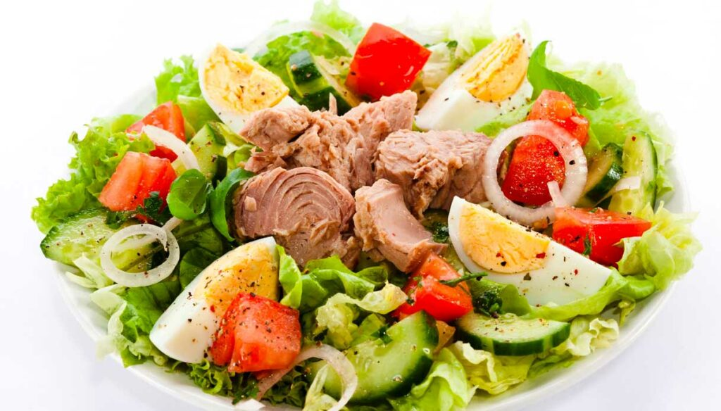 Diet with tuna: the weekly menus for healthy weight loss