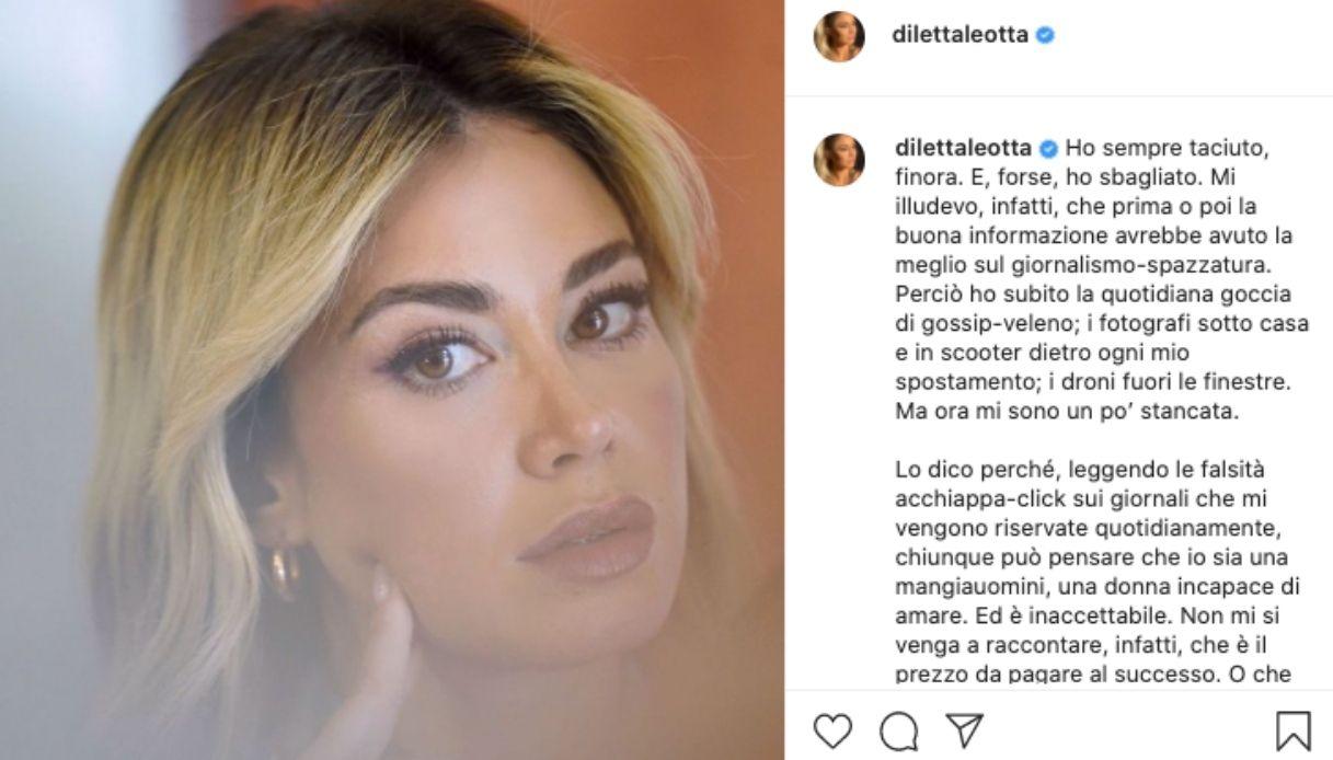 Diletta Leotta unleashes herself on Instagram