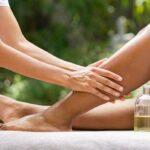 Draining massage to combat water retention