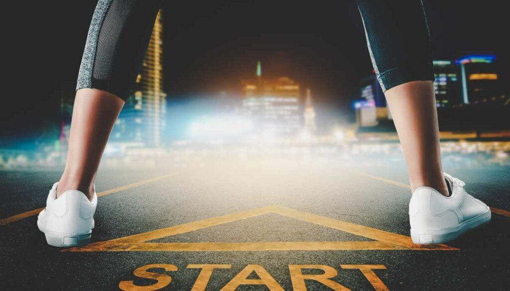 How to start running: easy program