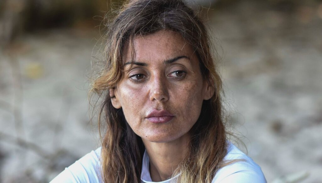Isola, Daniela Martani has something for everyone: Gilles displaces, Valentina aggressive