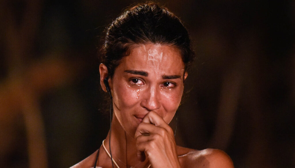 Isola, the tears of the Lodo (on Vallettopoli) are the truest thing of the episode