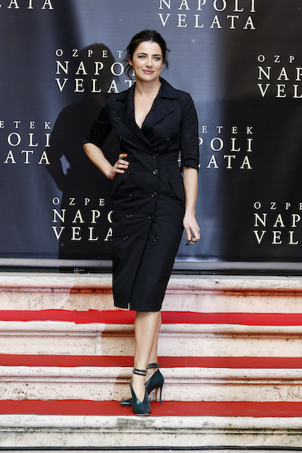 Luisa Ranieri black
