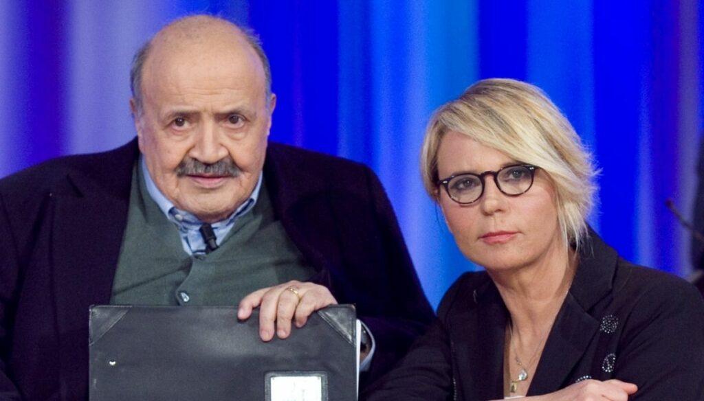 "Maurizio Costanzo tells himself: ""Maria is my pearl"""