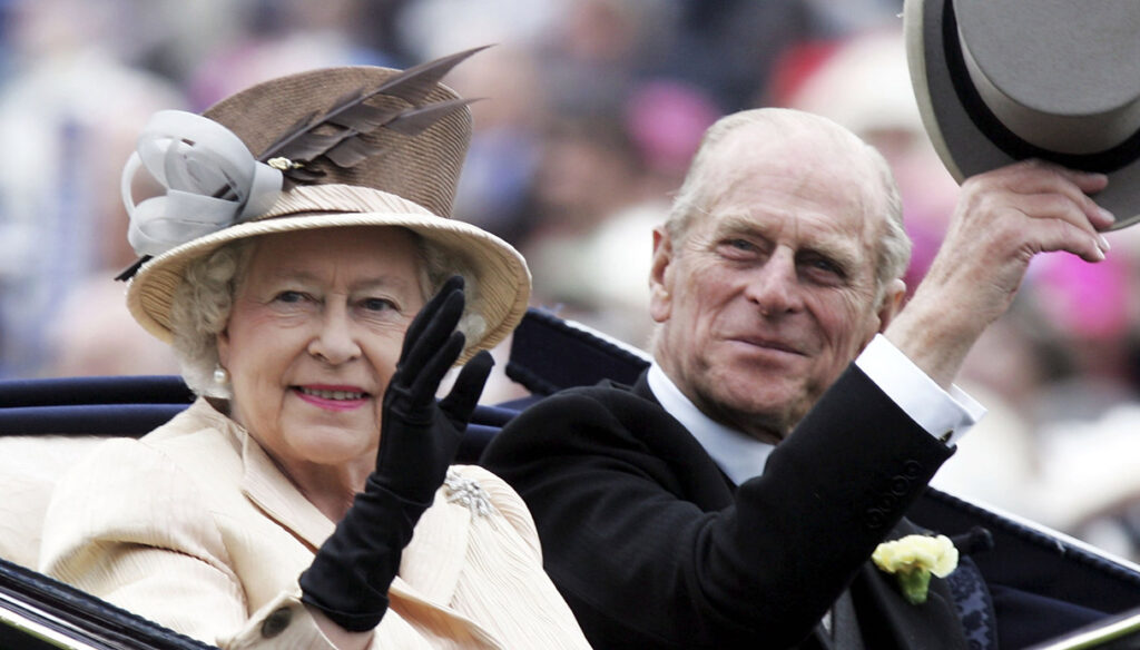 Prince Philip, who is the only man who knows his secrets and those of the Queen