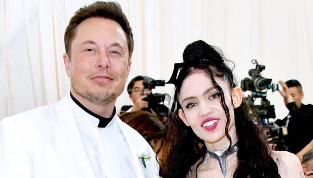 """Who is Grimes, Elon Musk's partner with the """"alien scars"""""""