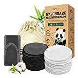 Hopemate Washable Reusable Bamboo Make-up Removal Pads