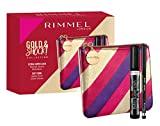 Rimmel London Gold & Shock Kit Makeup Set Mascara Extra Super Lash and Soft Kohl Eye Pencil