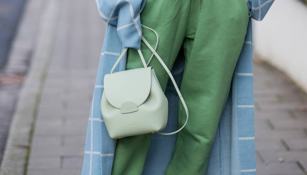 Candy bags: the bags this spring are in pastel shades
