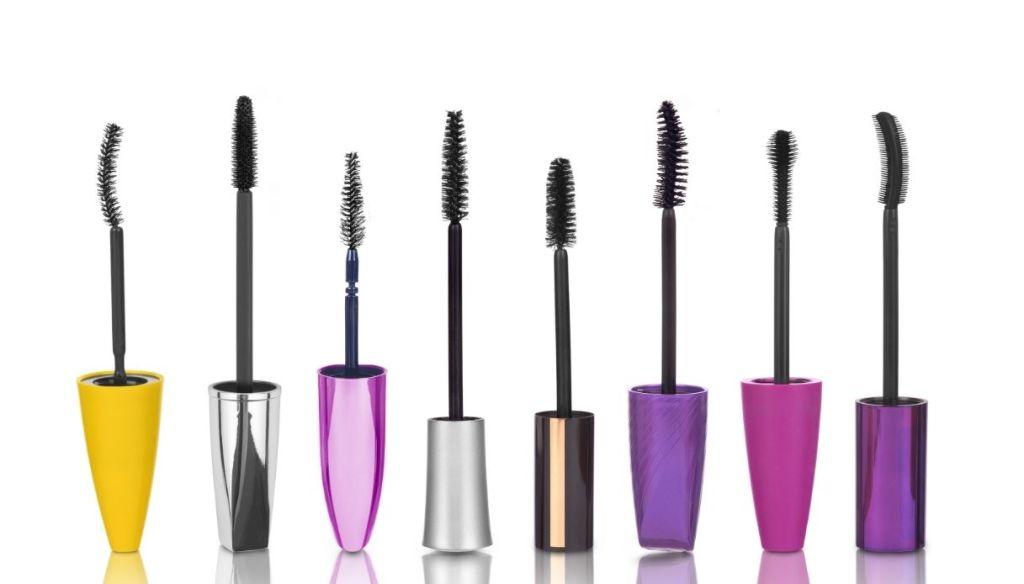 various types of mascara brush