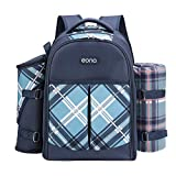 Picnic backpack with accessories