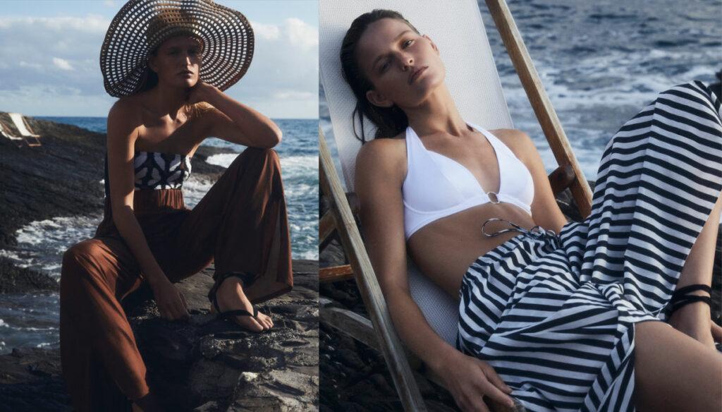 From costumes to kaftans, Max Mara's swimwear