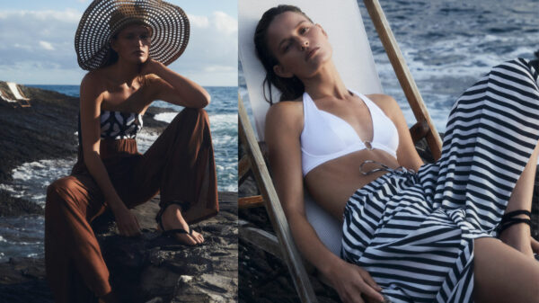 From costumes to kaftans, Max Mara's swimwear