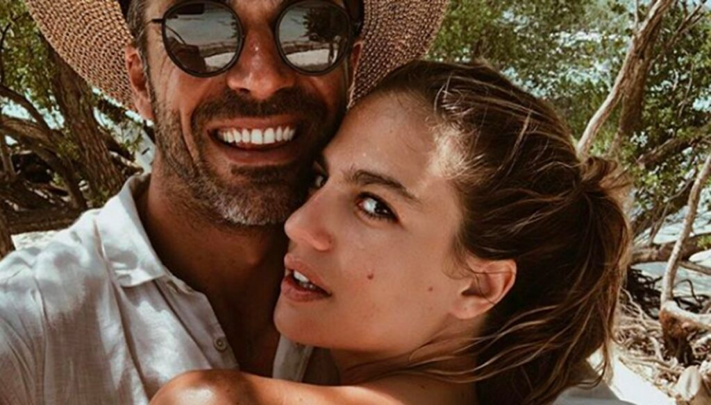 Luca Argentero and Cristina Marino married, the first wedding photo