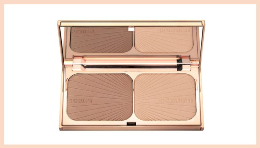 Contouring earth highlighting palette