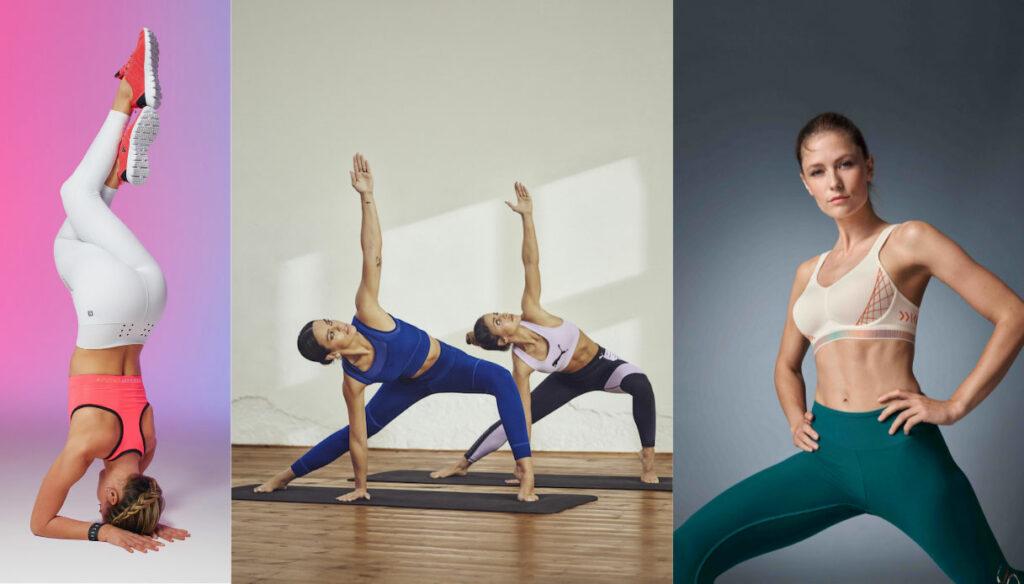 Yoga Mania! Technical and glamorous clothing