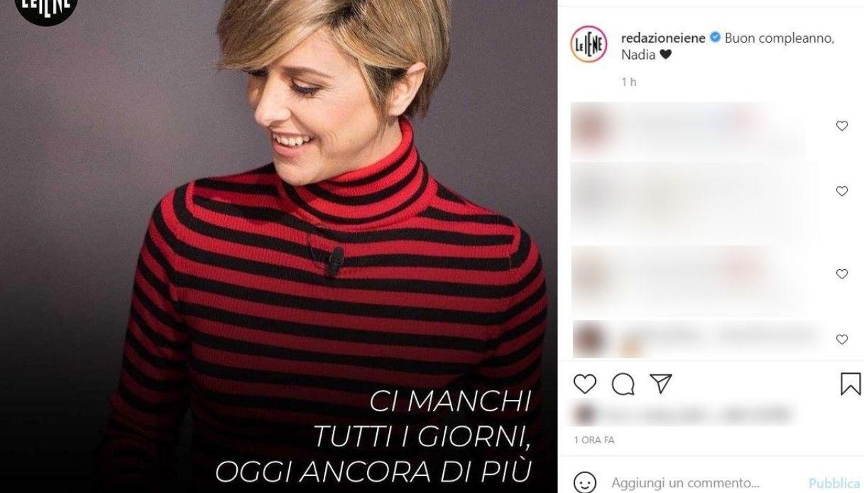 Instagram post Le Iene