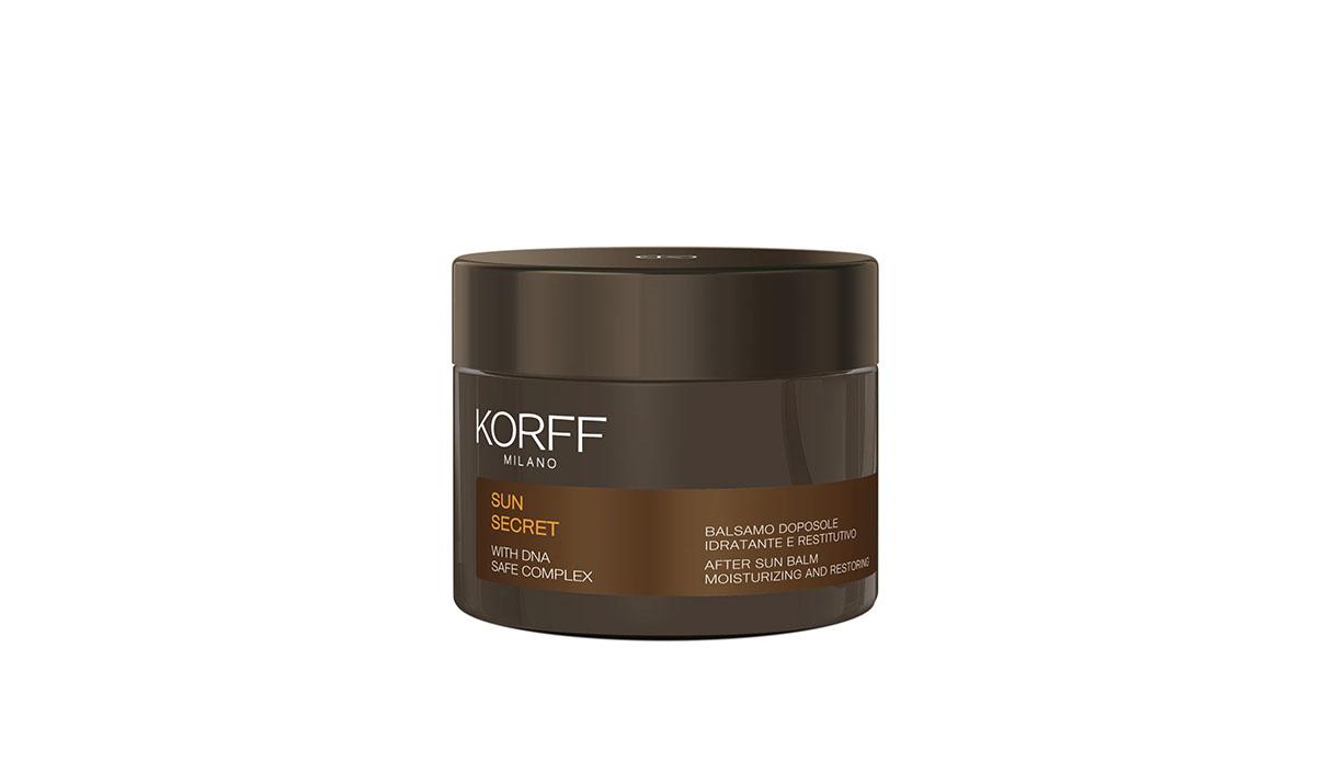 Korff, restorative moisturizing after-sun balm