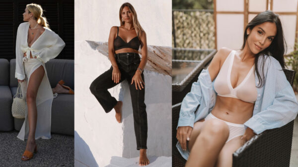 A hymn to lightness for Intimissimi lingerie