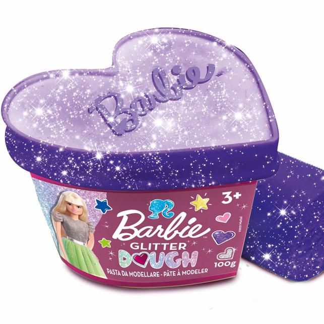 Barbie Glitter Dough