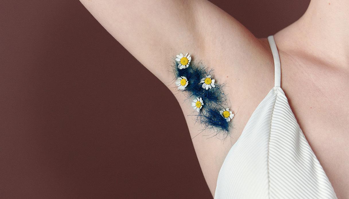 armpit hair removal