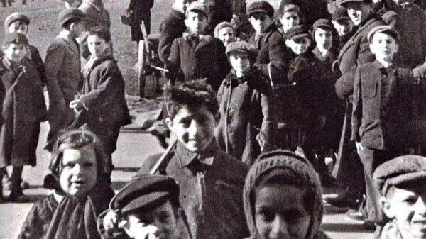 i bambini del ghetto di Varsavia
