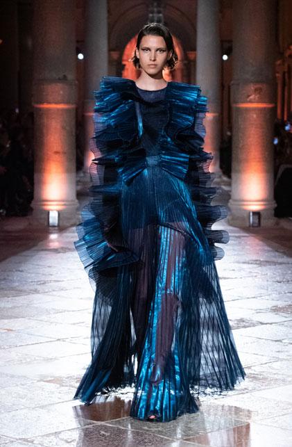 Alberta Ferretti's blue