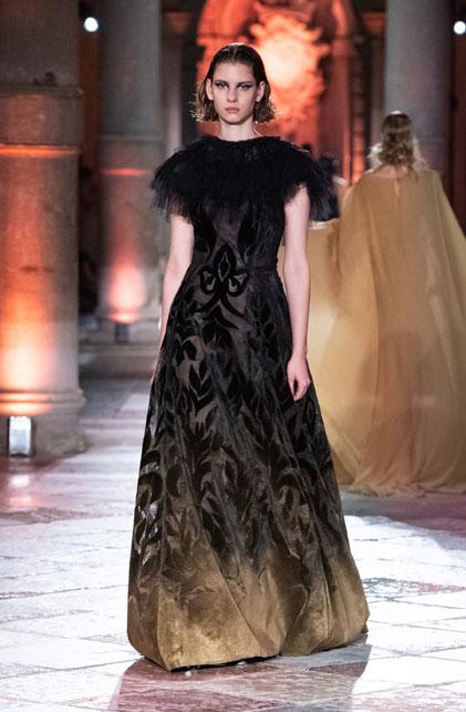 Alberta Ferretti and the Venetian damask