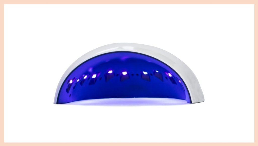 Semi-permanent enamel led lamp