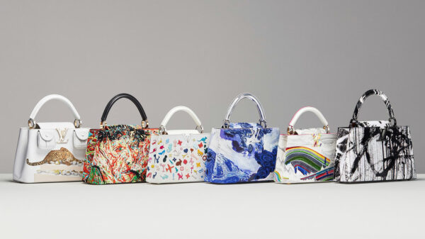 Art and fashion together for the third edition of Louis Vuitton's Artycapucines